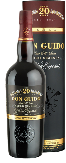 Sherry Pedro Ximenez Don Guido 20 Years Old